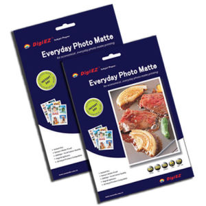 220g Dual-Side Matte Inkjet Photo Paper pictures & photos