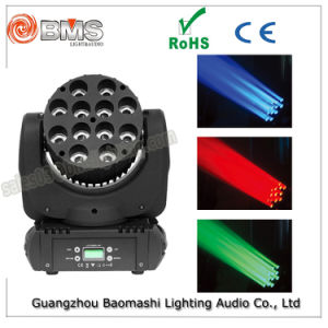150W 12 PCS RGBW 4in1 CREE LED Beam Light