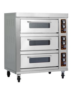 Triple-Layer Six-Tray Electric Bakery Bread Pizza Egg Tart Oven pictures & photos