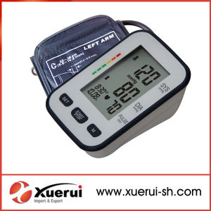 Arm-Type Medical Digital Blood Pressure Monitor pictures & photos