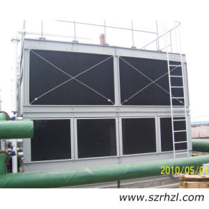 Square Mixed Flow Closed Circuit Cooling Tower Compacts Used for Water Cooling Chiller pictures & photos