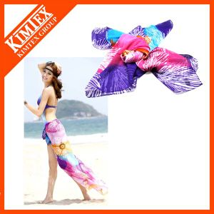 100% Polyester Fashion Sarong Beach Shawl pictures & photos