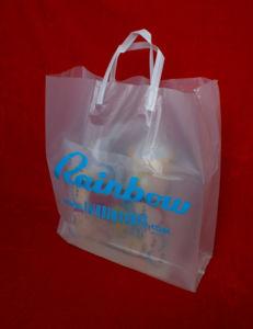 Print PE Clip Close Handle Bags