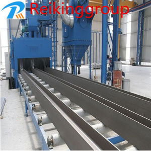 Roller Conveyor Abrator Blasting Steel Pipe Machine pictures & photos