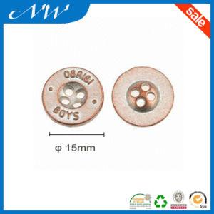 Hot Sale Good Quality 4 Hole Zinc Alloy Button pictures & photos