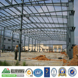 Prefabricated Workshop or House Made of Light Steel Structure pictures & photos