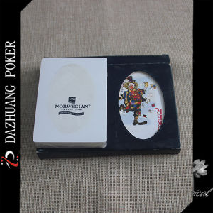 Double Packing Playing Cards in Plastic Box pictures & photos