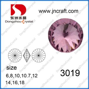 Rivoli Round Sew on Crystal Fancy Stones Loose Stones for Jewelry Accessories pictures & photos