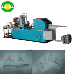 High Speed 1/4 Folding Machine for Dinner Napkin Paper pictures & photos