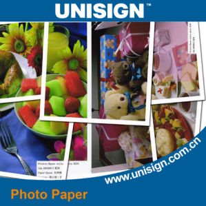 RC Coated Photo Paper for Pigment Indoor Media Advertising pictures & photos