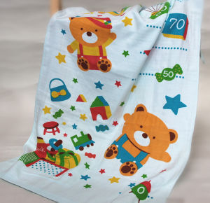 Kids Muslin Swaddle, Baby Bath Swaddle with 60X120cm pictures & photos