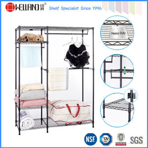 Bedroom Space Save Garment Design Furniture Metal Wardrobe Accessories pictures & photos