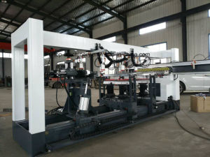 Three Rows CNC Wood Multi-Drilling Machine /CNC Wood Boring Machine with Digital Display pictures & photos