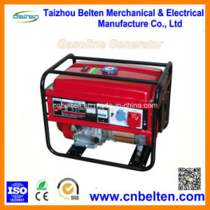 5kw Silent Battery Operated Home Gasoline Generator pictures & photos
