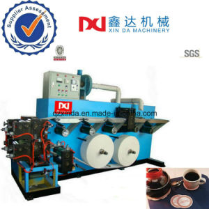 Automatic Counting Cutting Cup Tray Equip Printing Embossed Paper Tissue Coaster Machine pictures & photos