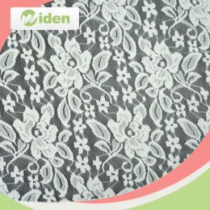 100 % Nylon Tricot Knitting Lace Fabric for Wedding Dress pictures & photos