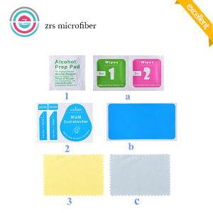 Screen Film Protector Installation Cleaning Kit Alcohol Pad Cleaning Cloth and Dust Sticker pictures & photos