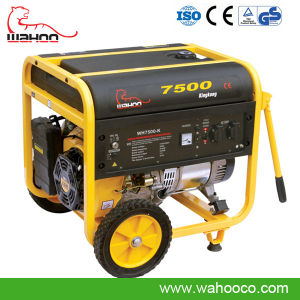 6kw CE Electric/Recoil Start Gasoline Generator (WH7500K) for Home Use pictures & photos