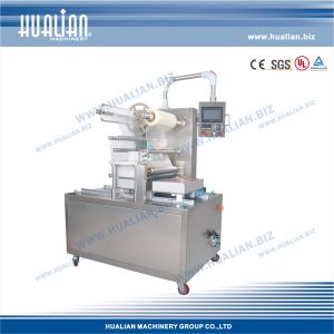Hualian 2015 Vacuum Packaging Machine for Trays (HVT-450F/2) pictures & photos