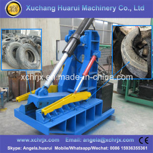 New Design Waste Tyre Cutting Machine pictures & photos