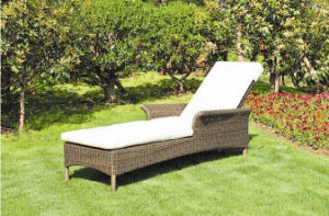 Outdoor High Quality Rattan Furniture Garden Leisure Sun Beach Lounge