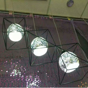 Modern Metal & 3D Glass Dining Room Pendant Lamp Light for Home or Hotel pictures & photos