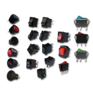 Rocker Switch, Round or Square, Built-in Switches, Car Dashboard Dash Boat Van pictures & photos
