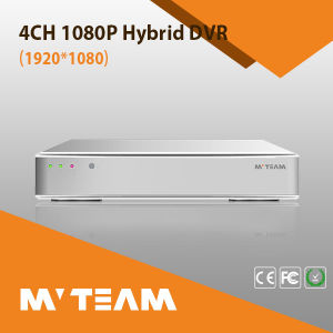 4CH 1080P Ahd and NVR Hybrid H264 Standalone DVR RoHS (6704H80P) pictures & photos