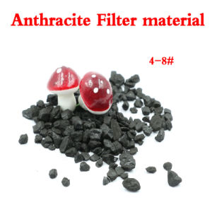 85%Min Fixed Carbon Anthracite Filter Media for Water Treatment pictures & photos