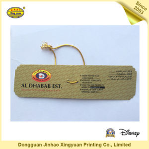 Customize Paper Hang Tag for Apparel (JHXY-HT0010) pictures & photos