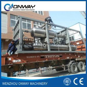 High Efficicent Energy Saving Stainless Steel Titanium Vacuum Film Evaporator Crystallizer pictures & photos