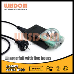 7000lux Super Bright Mining Wireless Caplamp, Wisdom Atex LED Headlight pictures & photos