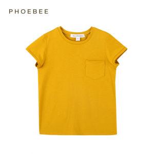 2-8 Years 100% Cotton Children Clothes Unisex T-Shirt pictures & photos