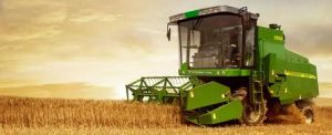 Self-Propelled 6kg Feeding Quantity Soya Harvester pictures & photos