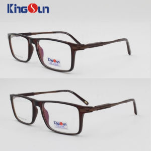 Tr90 Frame with Aluminum Mix Rubber Temple Optical pictures & photos