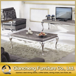 Restaurant Table Home Furniture Marble Dining Table pictures & photos