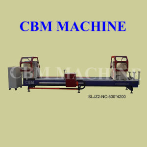 CNC Double Mitre Saw for Aluminium & PVC Window and Door (SLJZ2-NC-500*4200)
