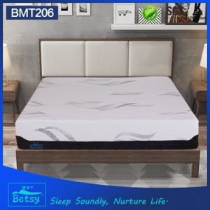 OEM Resilient Cheap Foam Mattress 32cm High with Knitted Fabric Zipper Cover and Massage Wave Foam pictures & photos