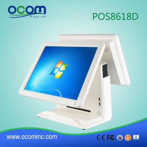 "Hot 15"" Touch All in One PC Cash Register POS Terminal with Dual Screen pictures & photos"