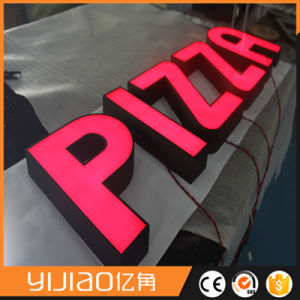 Good Brightness Metal Channel Letter Front Lit for Chain Store pictures & photos