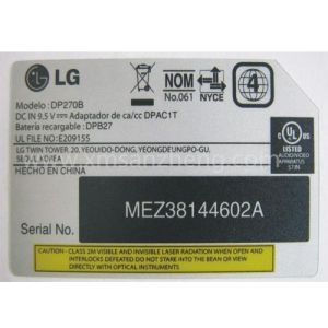 Thermal Transfer Weather Resistant UL Certified Electrical Device PC Stickers pictures & photos