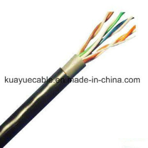 Connector Outdoor Double Utpcat5e / Data Cable/ Communication Cable pictures & photos