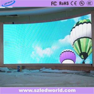 Indoor Arc Full Color SMD Fixed Curved LED Display Panel Board Screen Factory Advertising (P3, P4, P5, P6) pictures & photos