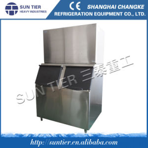 Metal Equipment Industrial Water Cooler Ice Cube Machine pictures & photos