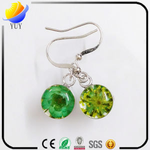 Fashion Micro-Inlaid Zircon Fine Silver S925 Flower Earring pictures & photos