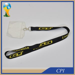 ID Card Holder Lanyard with Silk Screen Printing Logo pictures & photos
