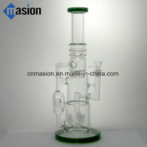 Glass Water Pipe Smoking Percolator Pipe (AY003) pictures & photos
