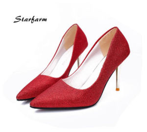 Lady Glitter High Heels for Promotion