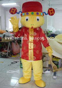 The Snake Wearing Tang Suit - Customizable Animal Costume