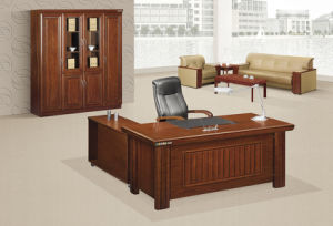 Walnut Small Executive Table Chinese Antique Office Furniture pictures & photos